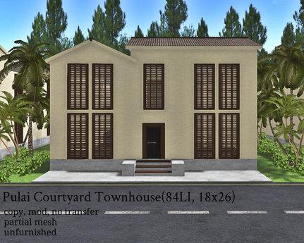 Pulai Courtyard Townhouse(84LI, 18x26)