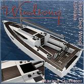 Windsong - TMS/Bandit Ushuaia Deck Wood, Ebony - Texture Appliers
