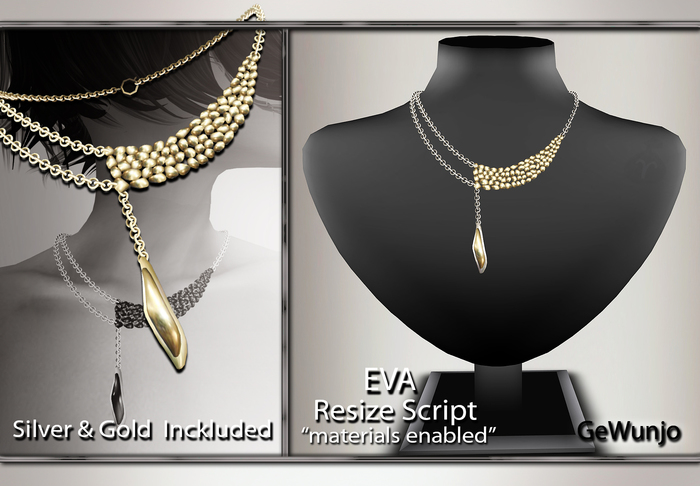 GeWunjo : EVA gold necklace
