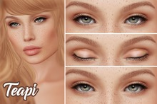 teapi . natural eyelashes for CATWA head ONLY