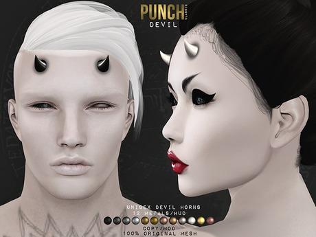 PUNCH / Devil Horns [Mesh]
