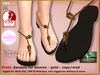 Bliensen   dreki   sandals for women   gold