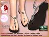 Bliensen   dreki   sandals for women   silver