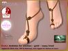 DEMO Bliensen - Dreki - Anklets - Slink Maitreya TMP Belleza