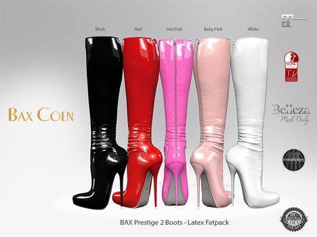 BAX Prestige 2 Boots Latex Fat Pack