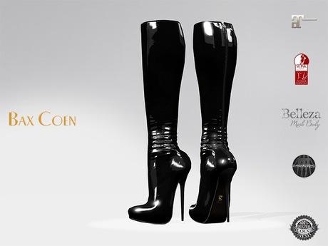 BAX Prestige 2 Boots Black Latex