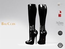 BAX Prestige 2 Boots Black Latex