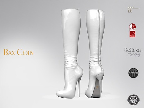 BAX Prestige 2 Boots White Latex