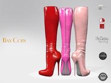 BAX Prestige 2 Boots Red/Pink Latex