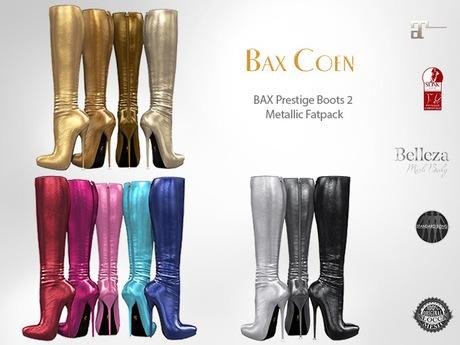 BAX Prestige 2 Boots Metallic Fat Pack
