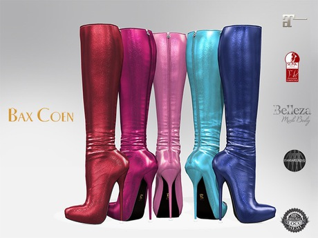 BAX Prestige 2 Boots Candy Metallic
