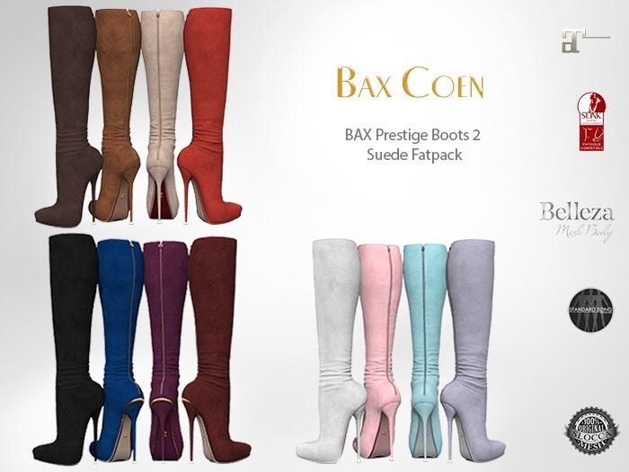 BAX Prestige 2 Boots Suede DEMO
