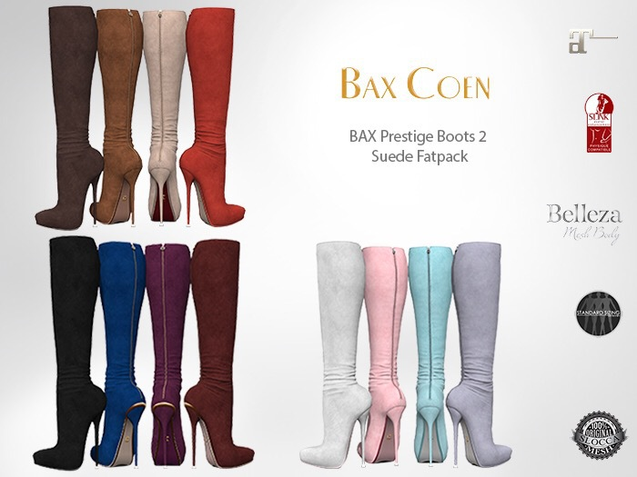 BAX Prestige 2 Boots Suede Fat Pack