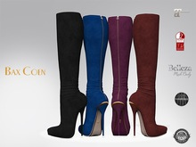 BAX Prestige 2 Boots Black/Dark Suede
