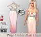 #b Paige Ombre Maxi Dress Peach