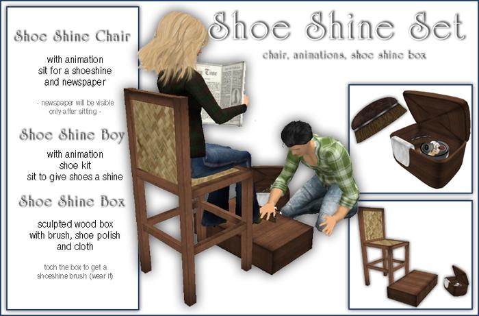 Sway's Shoe Shine Set