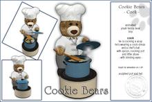 "Sway's Cookie Bear ""COOK"""