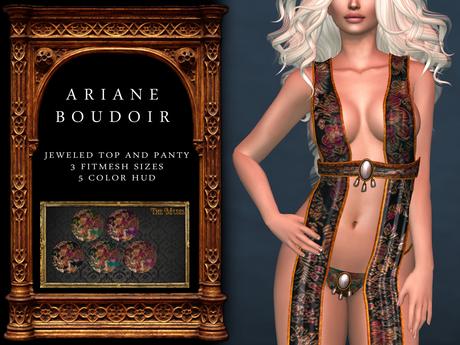 The Muses . Ariane Boudoir . DEMO