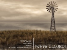 [we're CLOSED] windmill