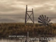[we're CLOSED] broken windmill