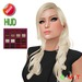 "eDeLsToRe woman mesh hair "" Clara "" incl 12 color HUD"