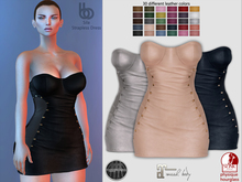 Bens Boutique - Sila Strapless Dress - Hud Driven
