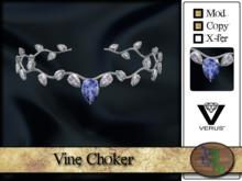 >^OeC^< Verus - Vine Choker (silver)