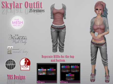 Skylar Outfit With Hud
