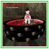 Batty Babies ^*^ Vampy Blood Pool w/ Circling Shark