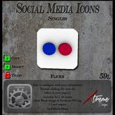 Social Media Icons Web Icon - Web Icon Flickr - Web Interactive