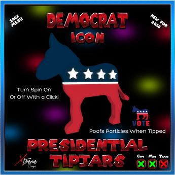 Democratic Icon Tipjar - Election - President