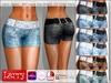 LARRY JEANS - 807 Lace Top Shorts - 12 Color Pack