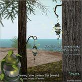 -Hanaya- Forest Clearing Hanging Vine Lantern Set [mesh]