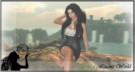 :LW: Poses - Never give up - single female pose