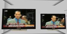 .::DAZED::. Mesh Animated Screen  TV.  NEWS REPORT