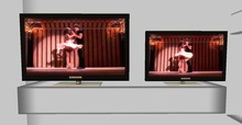 .::DAZED::. Mesh Animated Screen  TV.  CHICK FLICK
