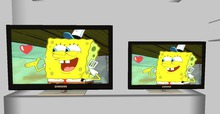 .::DAZED::. Mesh Animated Screen  TV.  CARTOON 2