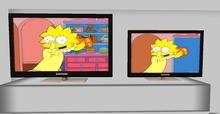 .::DAZED::. Mesh Animated Screen  TV.  CARTOON 1