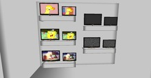 .::DAZED::. 100% MESH ANIMATED TV - KIDS  PACK