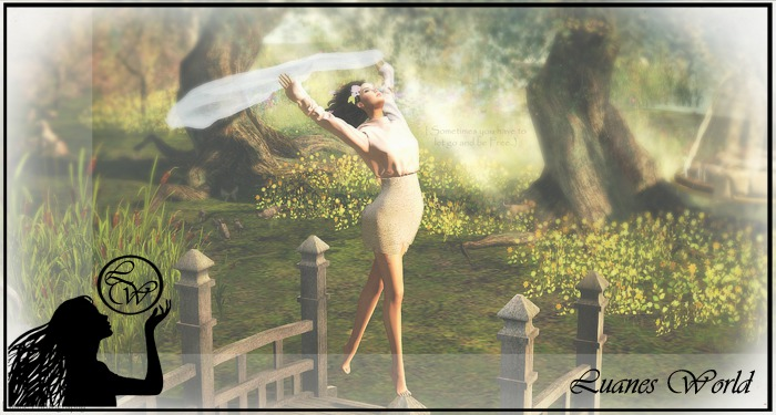 :LW: Poses - let go and be free - single female pose