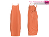 Full Perm CLASSIC RIG 5 SIZES | Full Perm Casual Beach Maxi Dress
