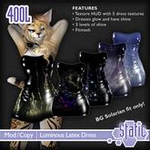 ::Static:: Luminous Latex Dress