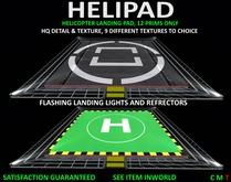 HELICOPTER LANDING PAD Helipad 12 Prims