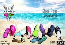 ::ALTER:: UNISEX Classic Clogs -Maitreya, TMP, Signature, SLink