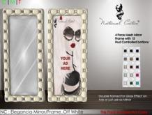 NC : Elegancia Mirror/Frame_Off White