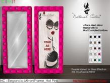 NC : Elegancia Mirror/Frame_Hot Pink