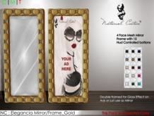 NC : Elegancia Mirror/Frame_Gold