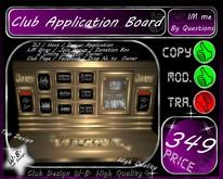 * Big Club Application Board *