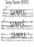 Prelude & Fugue in D  - Playable Sheet Music for Barouque Organ