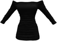 Shoulder Black Dress Maitreya By Beck